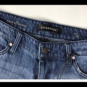 Liverpool Jeans Company Jeans - Liverpool Kennedy Crop Jeans